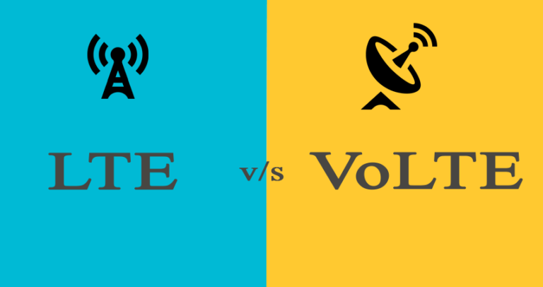 What is the Difference Between LTE and VoLTE
