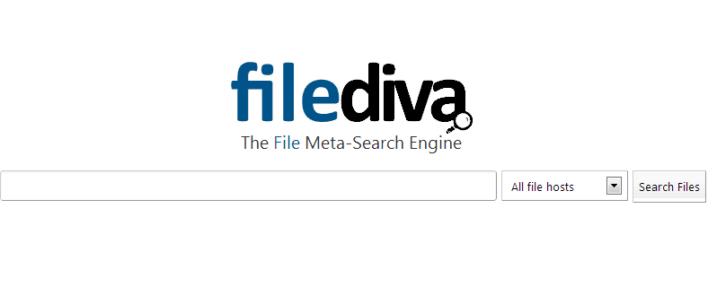 Shared files search engine
