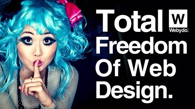 100K Professional Code-Free websites Created On Webydo's Innovative Design Platform