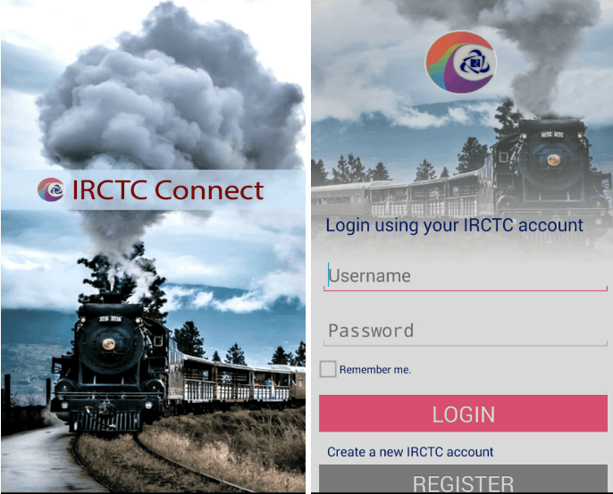 IRCTC Connect – Best Android app to Book train Tickets in India