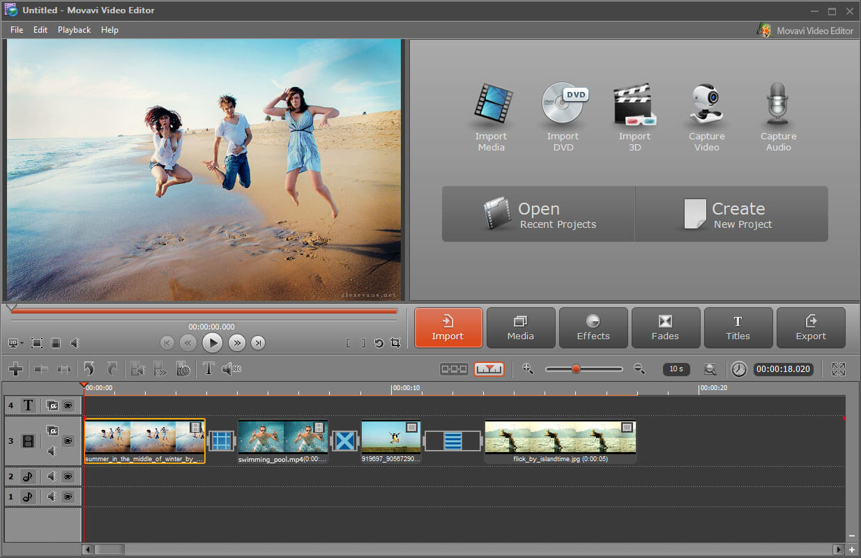 How to Create a Slideshow with the Movavi Video Editor