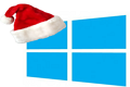 windows 8 Christmas logo